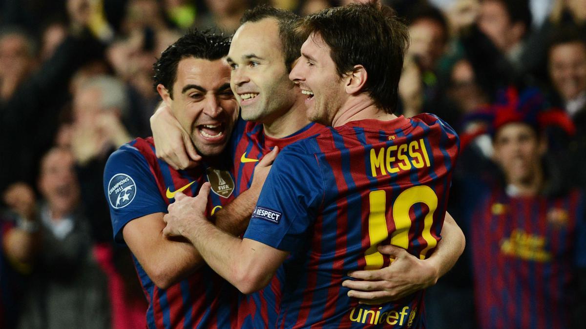 Iniesta Xavi Messi Golden Generation Won T Be Repeated As Com