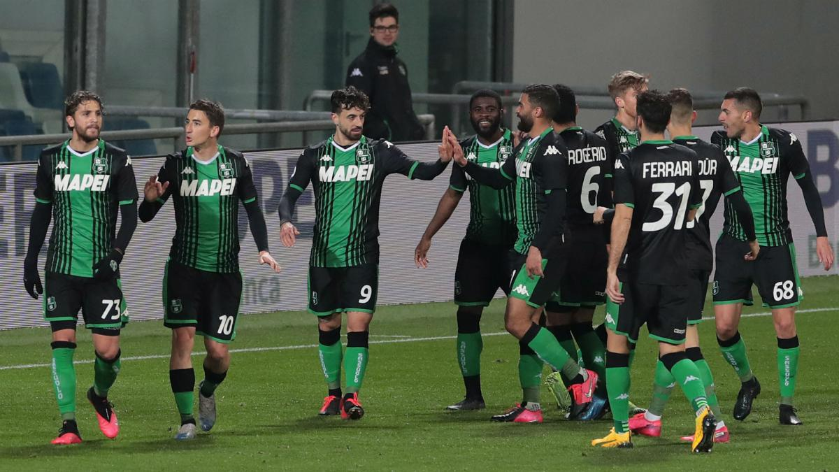 Coronavirus: Sassuolo given green light to return to training - AS.com