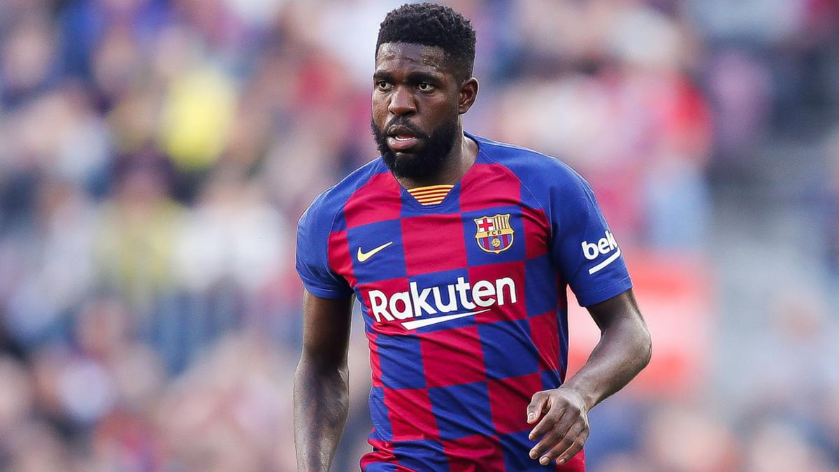 Barcelona: Umtiti injured in second session of training return ...