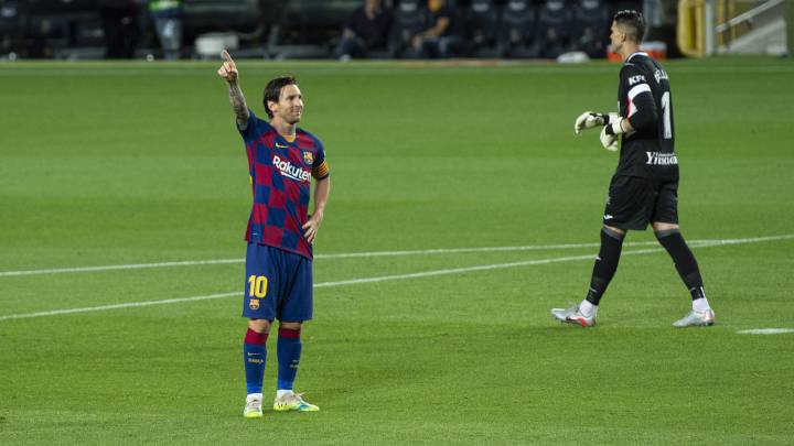 Barcelona 2 0 Leganes Fati Messi Seal It With Goals In Either