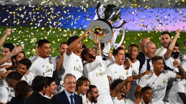Real Madrid: LaLiga champions 2019/2020 - AS.com