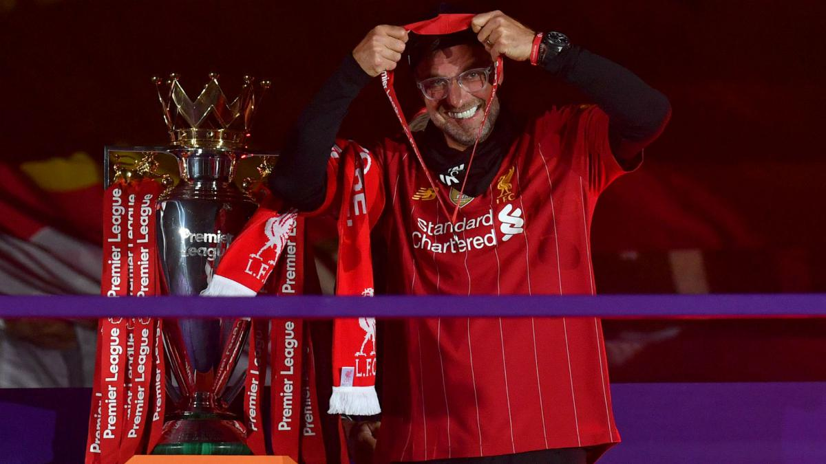 Klopp insists Liverpool 'will not stop' after lifting Premier ...