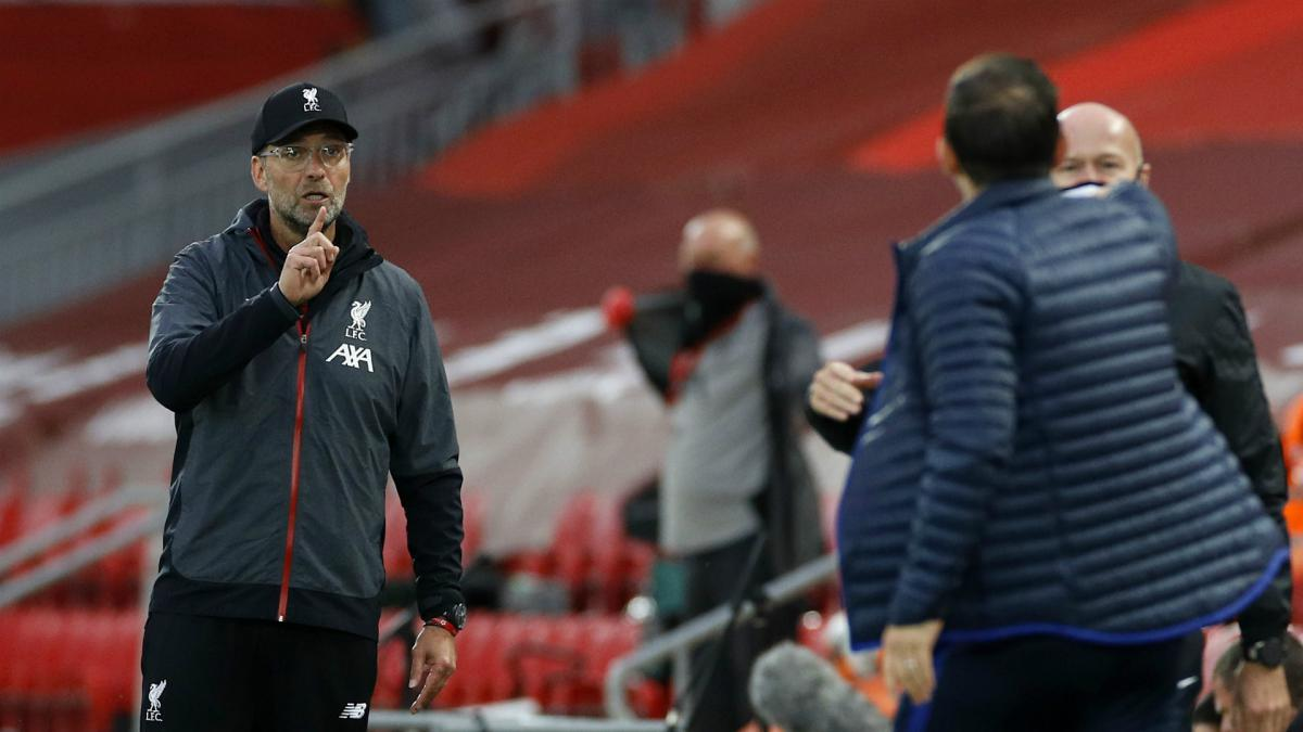 """Klopp: Liverpool boss says Chelsea's Lampard """"has to learn"""" - AS.com"""