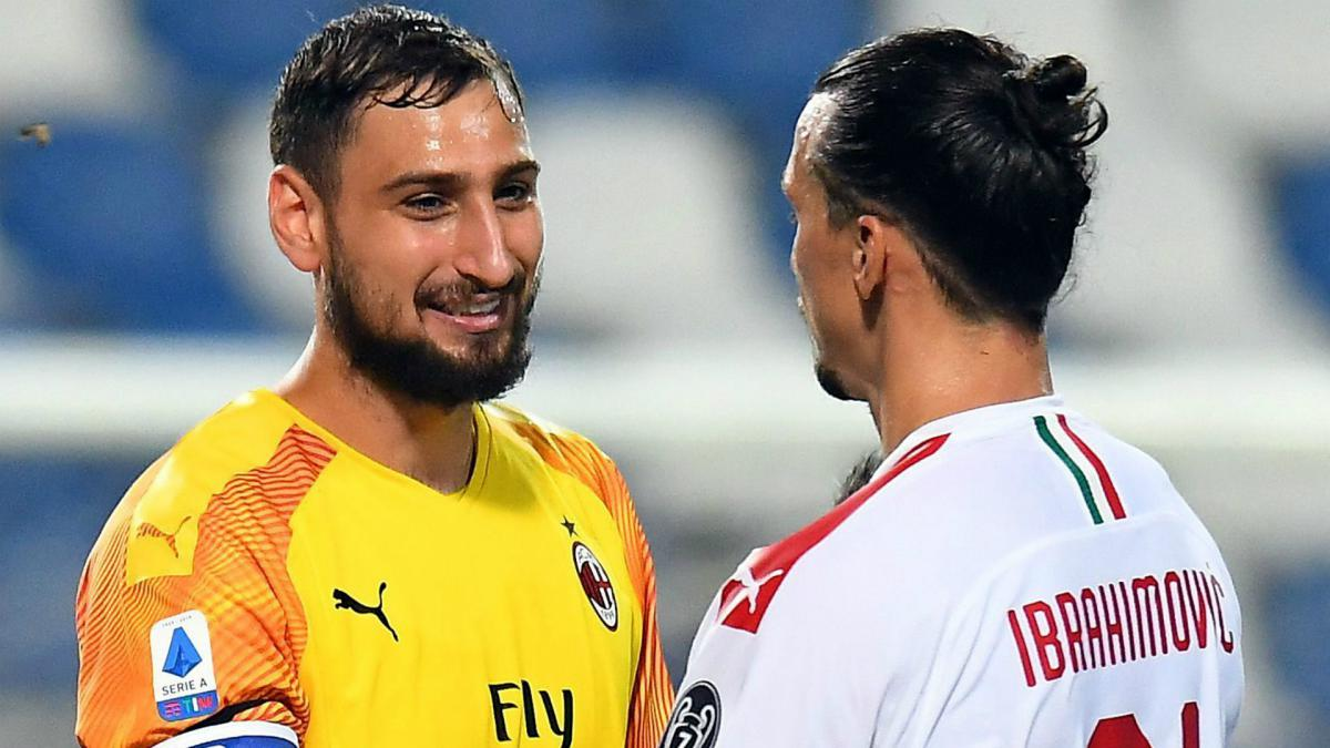 Milan Discussing New Ibrahimovic And Donnarumma Deals As Com