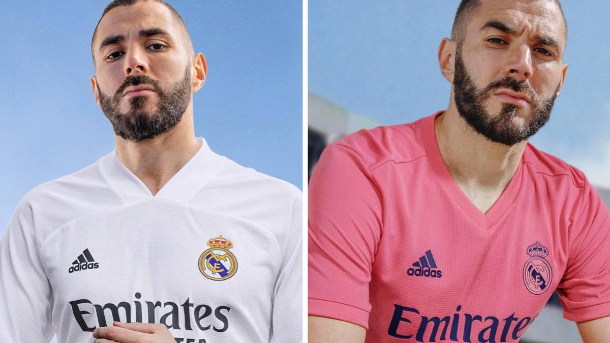 Real Madrid Unveil New 2020 21 Season Home And Away Kits As Com