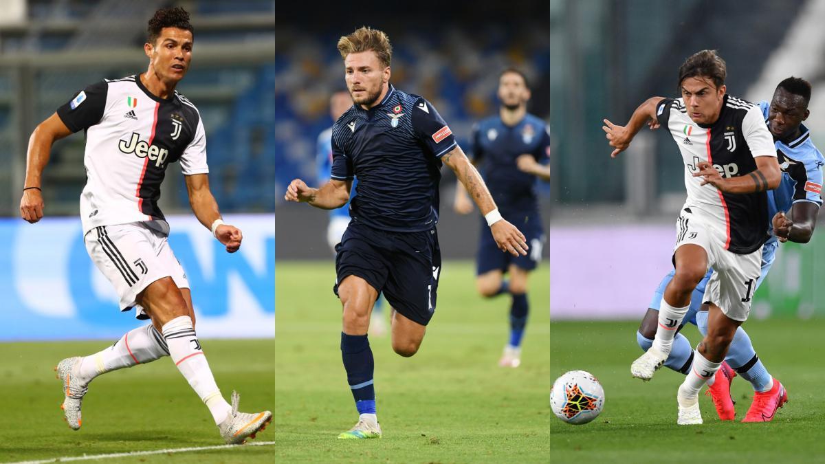 opta s serie a team of the season cristiano ronaldo immobile as com opta s serie a team of the season