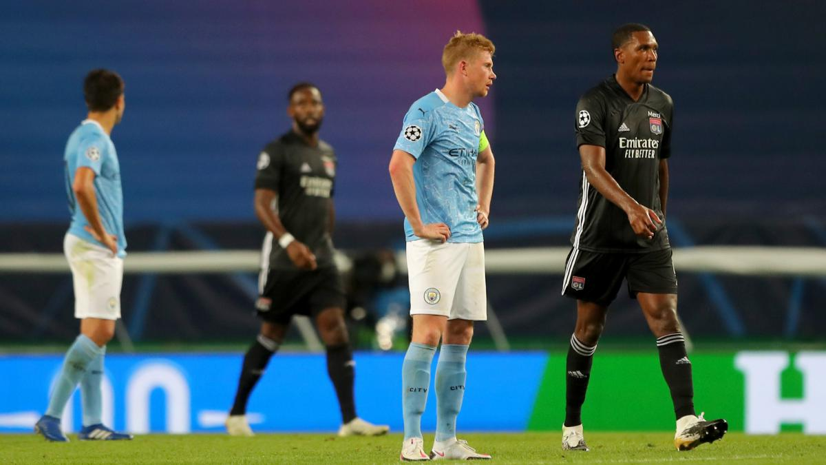 De Bruyne: Man City 'not good enough' as they crash out of ...