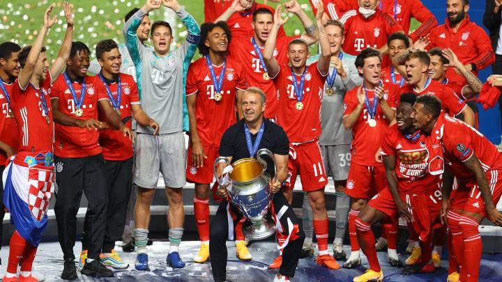 UEFA Super Cup 2020 bayern celebration