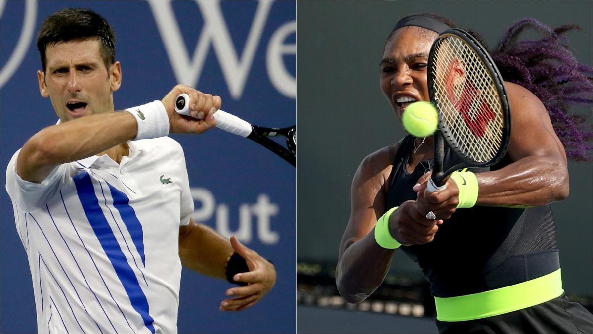 Coronavirus Usa Us Open Djokovic And Serena Have Records In Sight At Flushing Meadows As Com