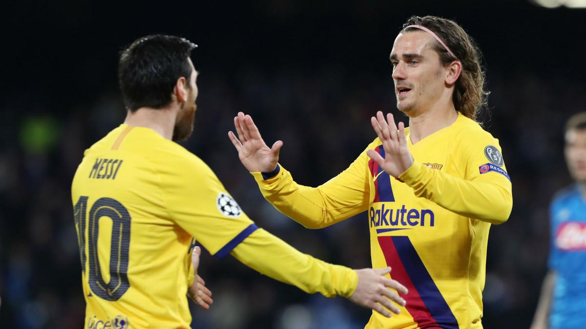 Griezmann hoping Messi stays at Barcelona - AS.com
