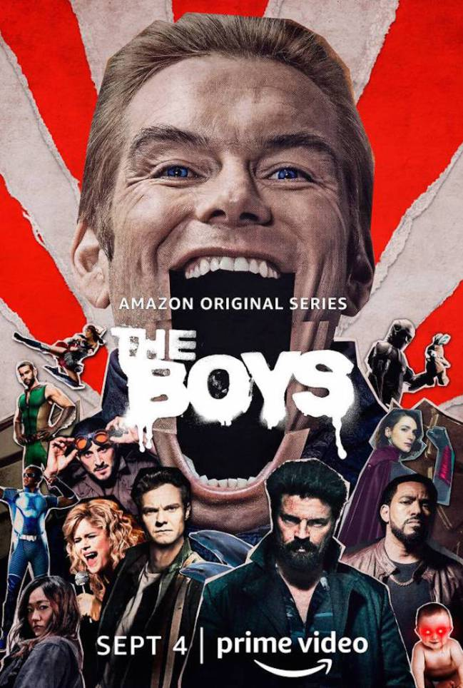 The Boys S02 (2020) 1080p AMZN WEB-DL HIN-Multi DD+5.1 H 264-Telly