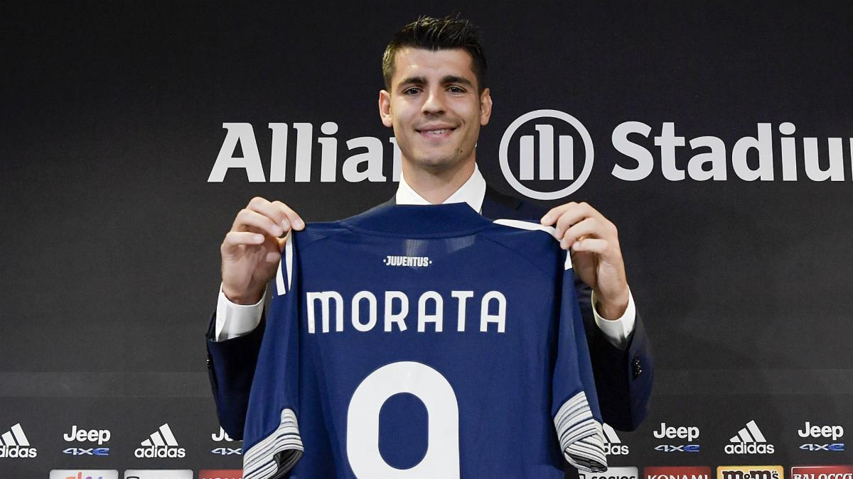 Juventus Pirlo Denies Morata Was His Third Choice To Partner Cristiano Ronaldo As Com