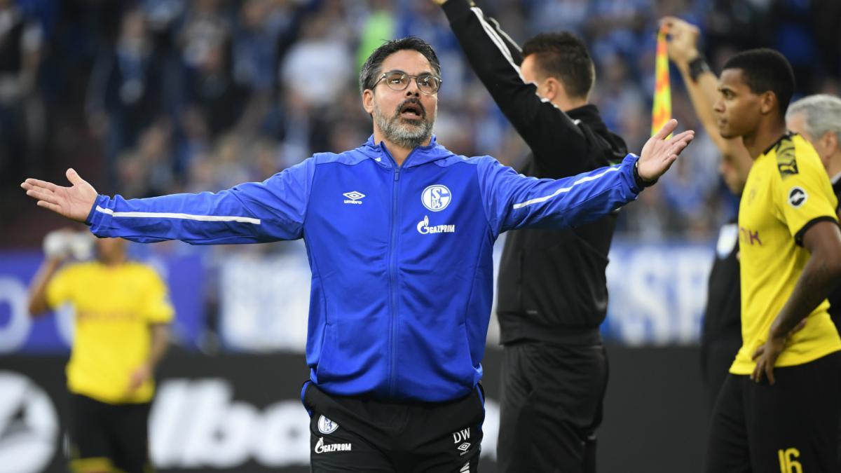 Bundesliga Schalke Sack David Wagner After Just Two Games As Com