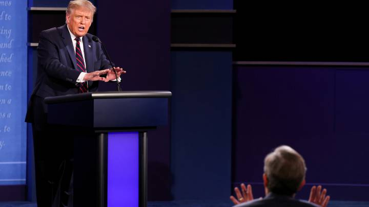 Us Elections 2020 What Did Moderator Chris Wallace And Trump Argue About As Com