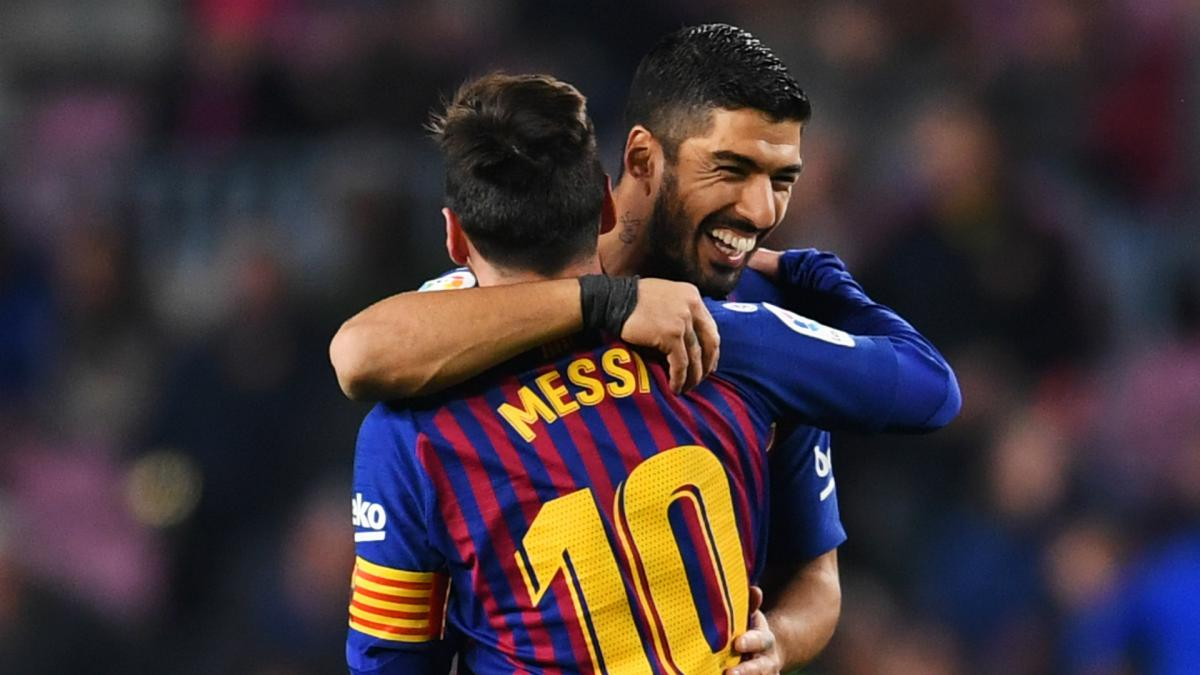 Suarez Messi Saw My Barca Suffering And I Cried But Now I M Happy At Atletico As Com