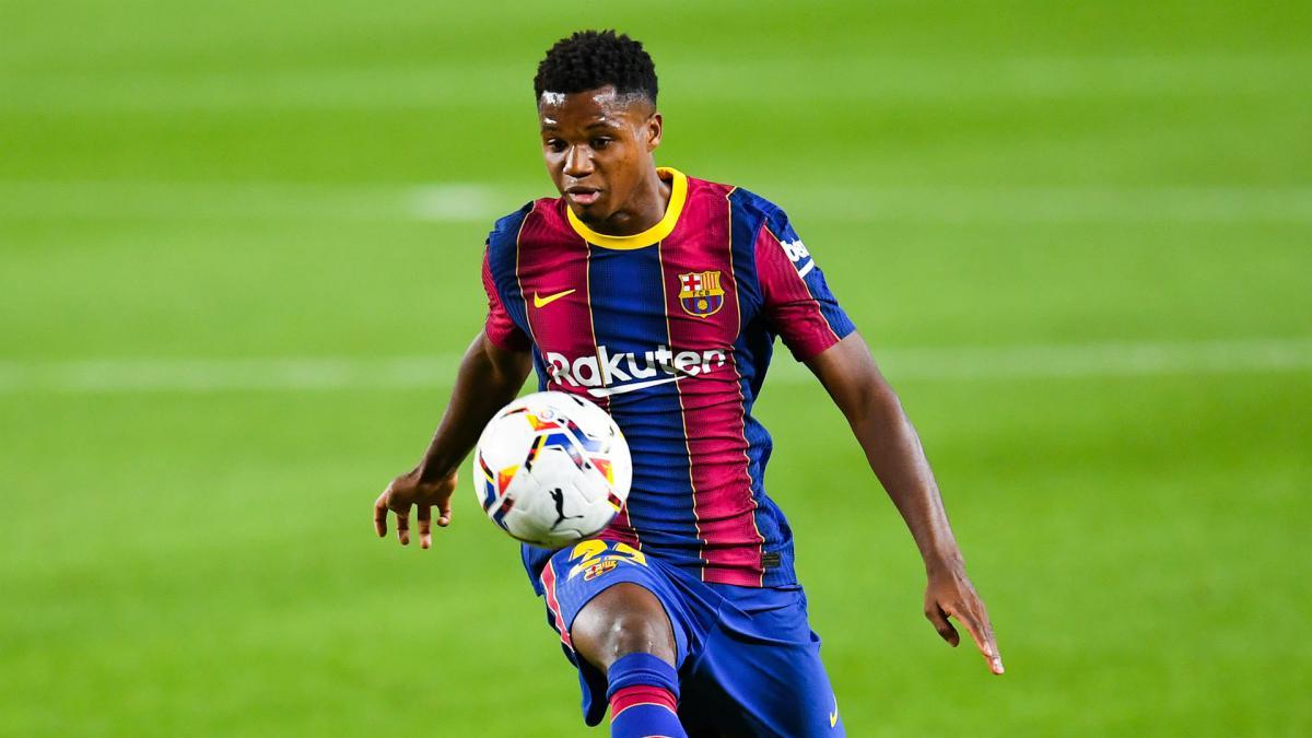 Barcelona Ansu Fati Wins Laliga Player Of The Month As Com