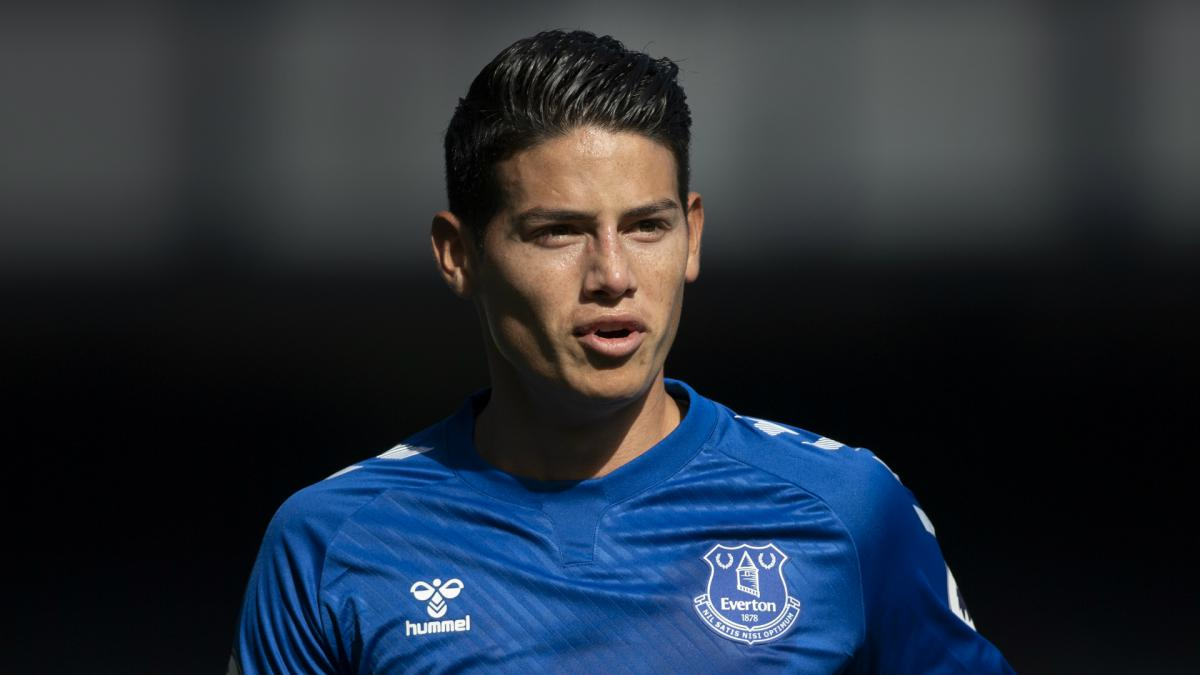 Everton Look To James To End 10 Years Of Derby Hurt Against Liverpool As Com