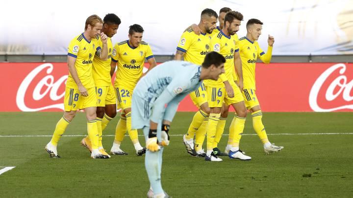Real Madrid Caught Napping As Lozano Seals Historic Win For C diz AS com