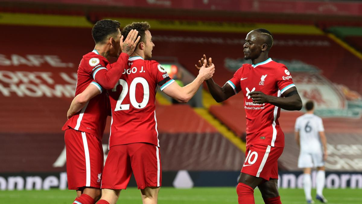 Liverpool Set New Anfield Unbeaten Run Record With Leicester City Win As Com