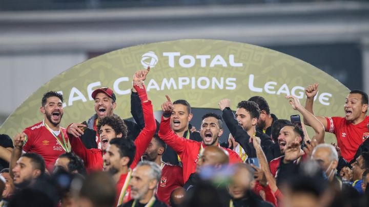 Image result for al ahly win caf champions league
