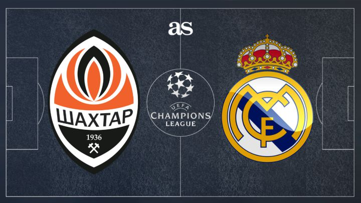 Shakhtar Donetsk vs Real Madrid: how and where to watch - times, tv, online - AS.com