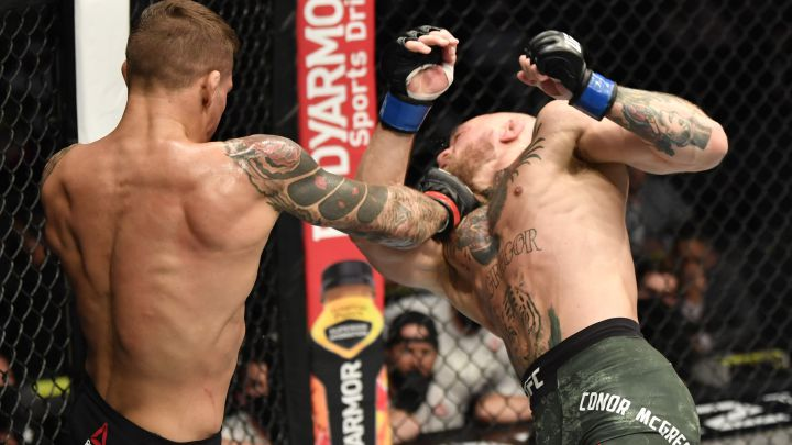 Image result for conor mcgregor ufc 257 fighting