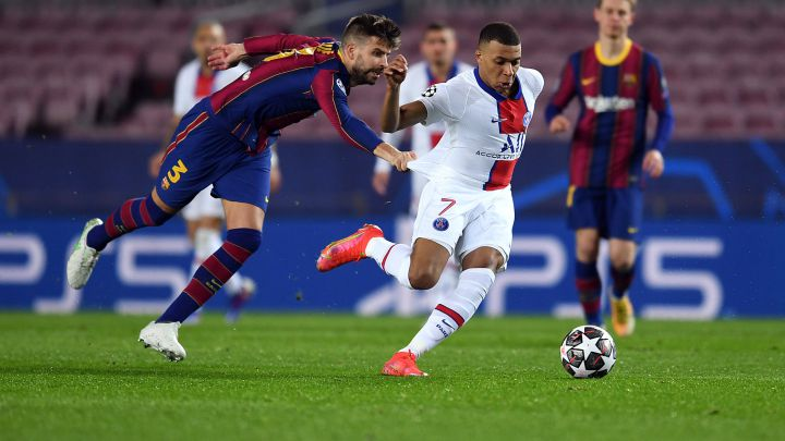 Barcelona 1 4 Psg Results Summary And Goals Champions League 2020 21 As Com