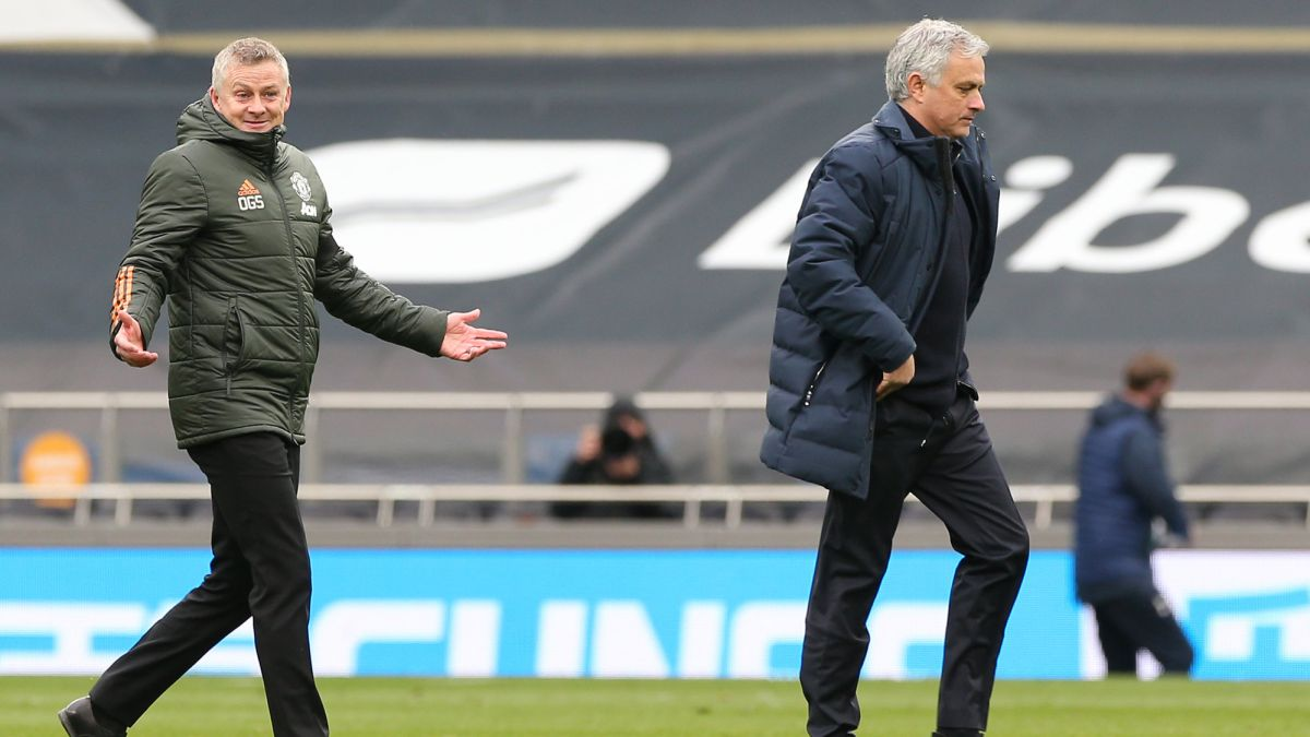 Sonny is very lucky that his father is a better person than Ole' - Mourinho reacts to Solskjaer jibe - AS.com