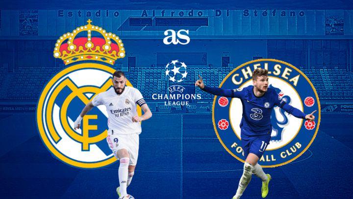Real Madrid vs Chelsea Full Match – Champions League 2020/21