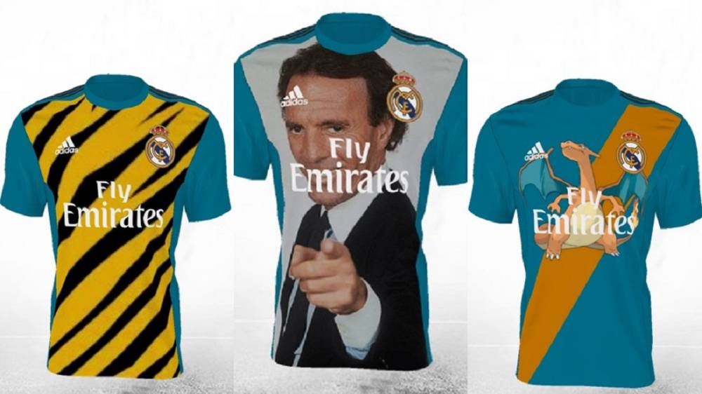 official photos 9f640 f7040 Adidas | Real Madrid fans' kit designs: The very best of the ...