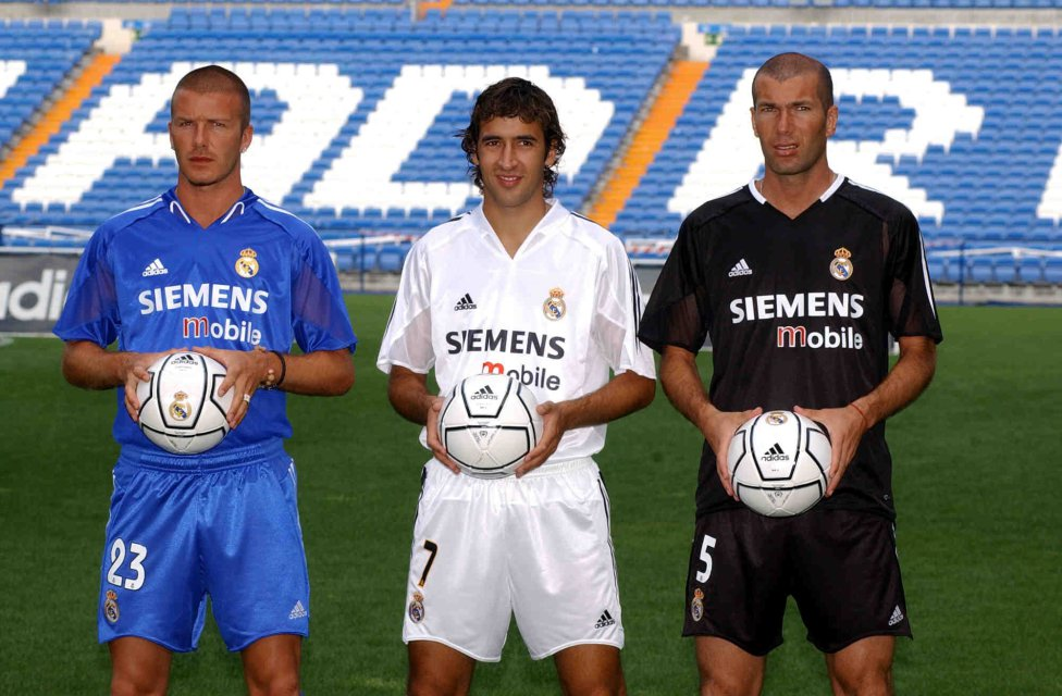 newest d064c 4d5a8 Football A visual history of Real Madrid's kits through the ...