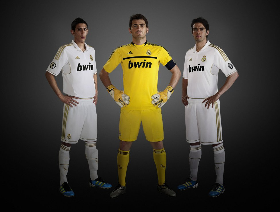 newest a681b 39dd9 Football A visual history of Real Madrid's kits through the ...