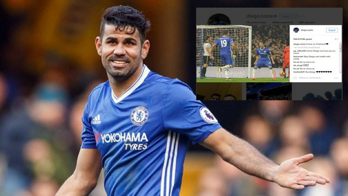 Premier League | Chelsea's Diego Costa posts to Instagram after Conte bust  up - AS.com