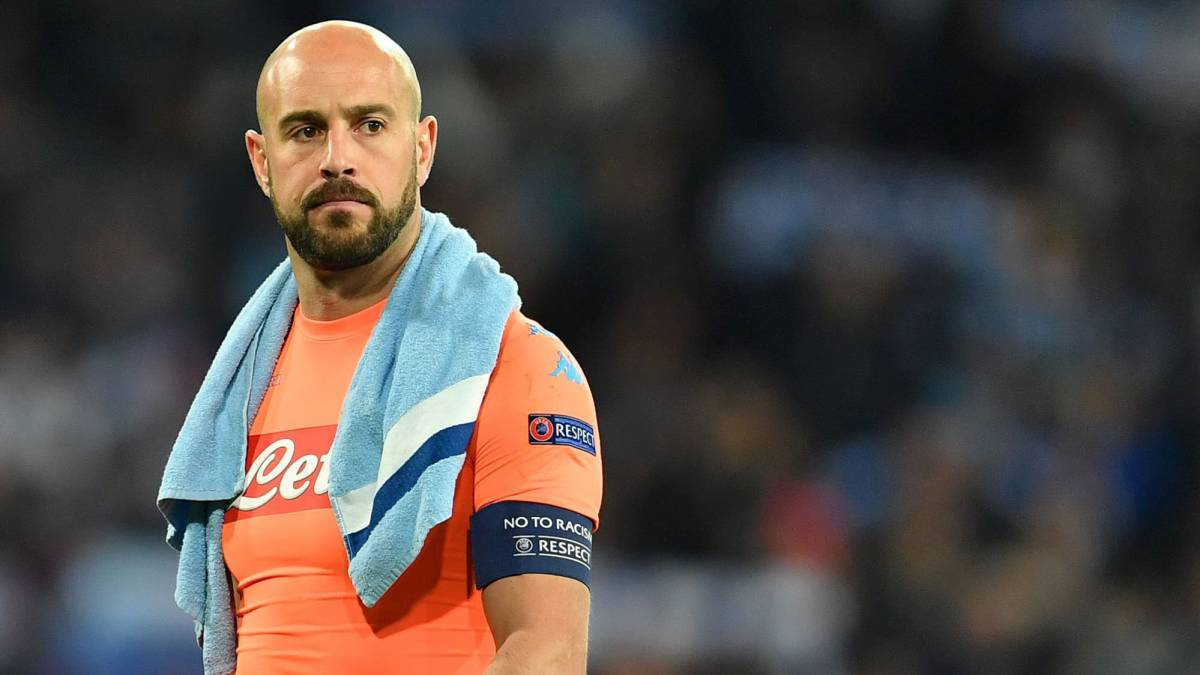 """Real Madrid   Pepe Reina: """"It's impossible to defend against ..."""
