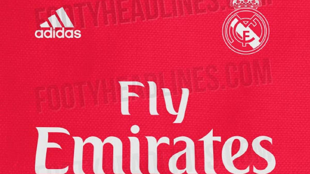 size 40 8894f 2dce9 Real Madrid to return to a red third team kit next season ...