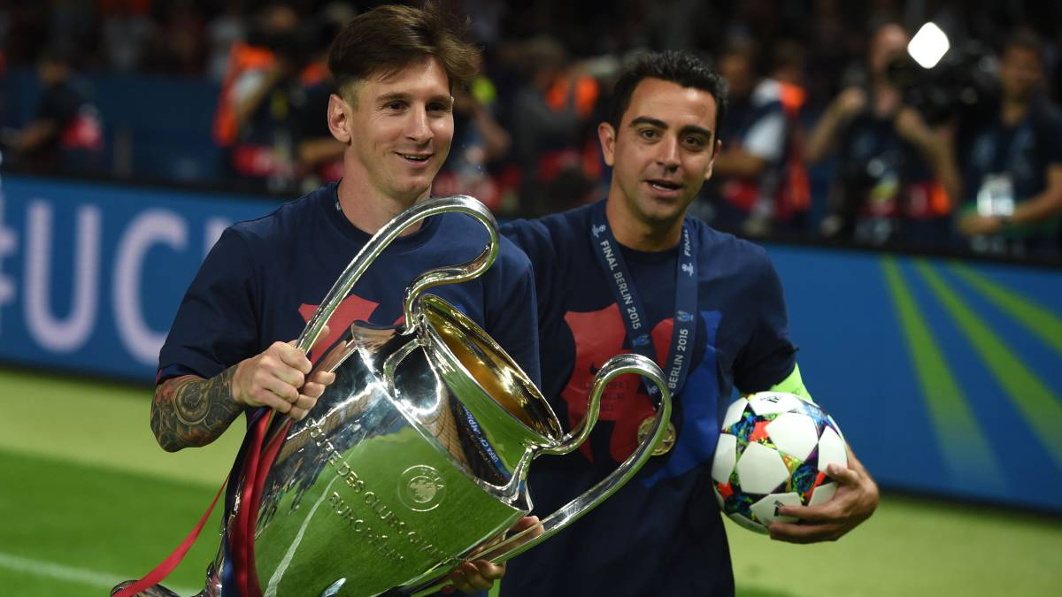 Xavi Recalls Being Blown Away By 16 Year Old Messi In His First Training Session As Com