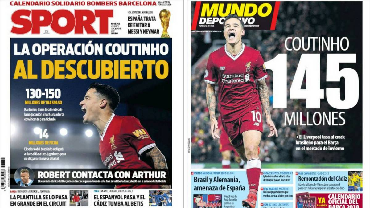 Liverpool Calendario.Liverpool S Coutinho Valued At 145 Million Euros For