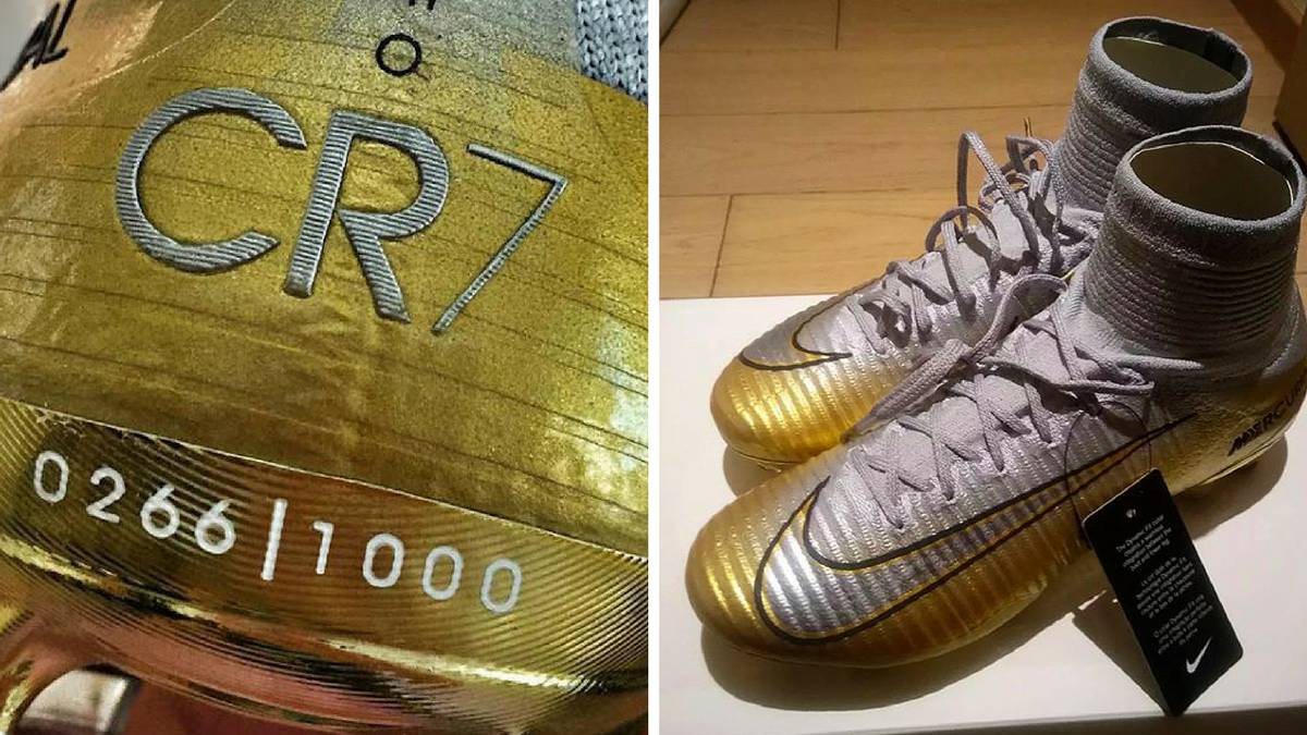 exclusive range wholesale the best Cristiano Ronaldo Ballón d'Or 'Fifth triumph' boots leaked ...