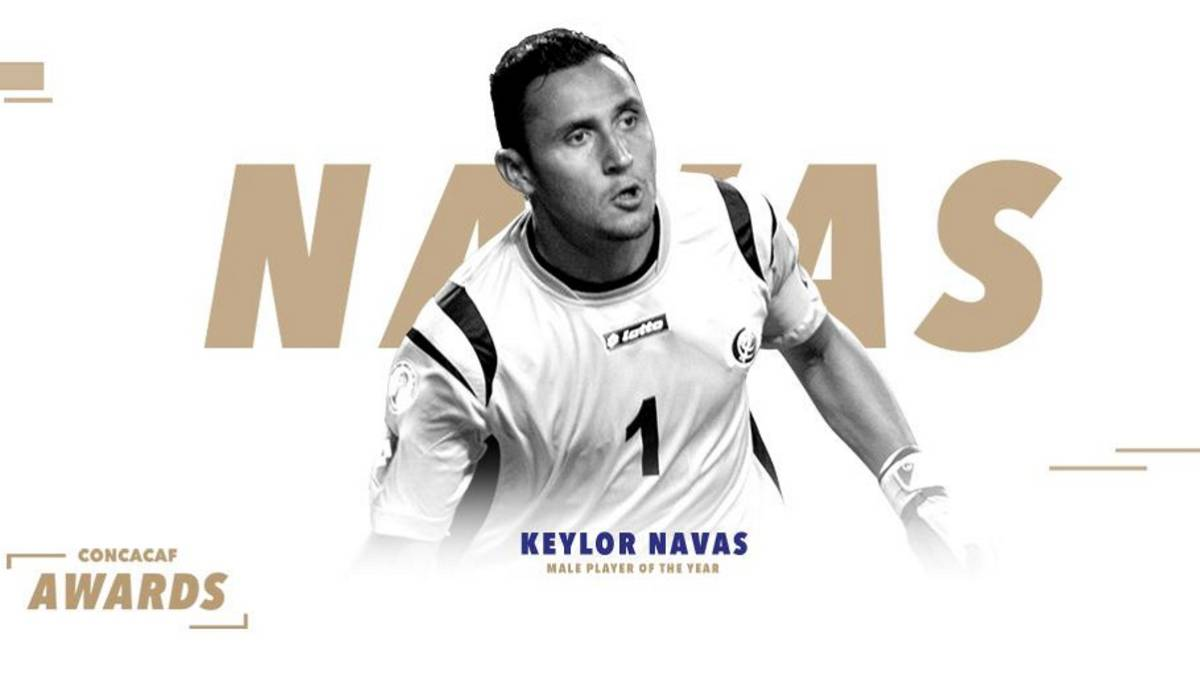 competitive price c4a30 19e73 Real Madrid | Keylor Navas picks up Concacaf player of the ...