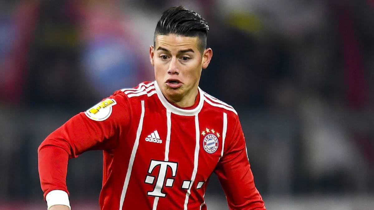 James Rodriguez Bayern Are At The Same Level As Real Madrid As Com