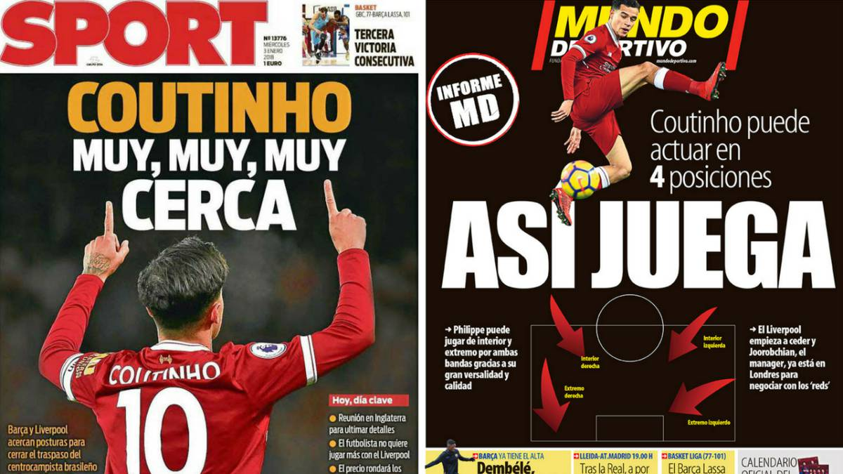 Liverpool Calendario.Barca Target Philippe Coutinho Dominates The Catalan Press