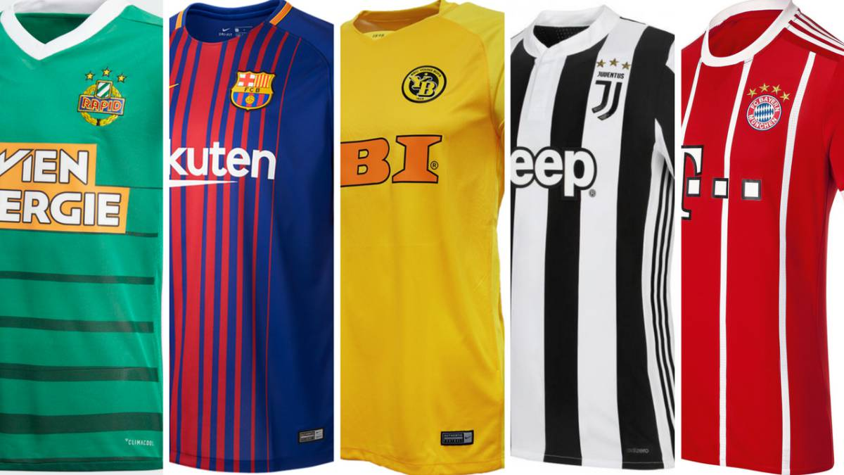 Where are the most expensive football shirts in Europe? - AS com
