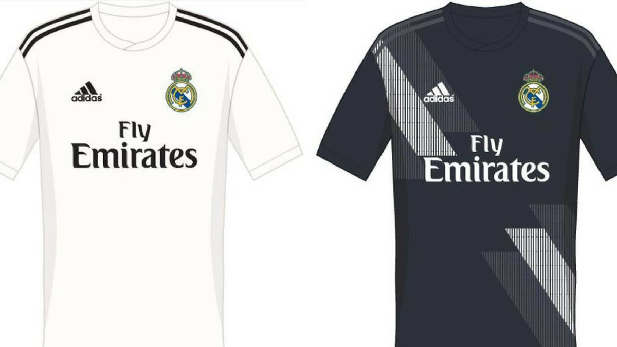 online retailer e0619 61d1a Possible 2018/19 Real Madrid kit filtered online - AS.com
