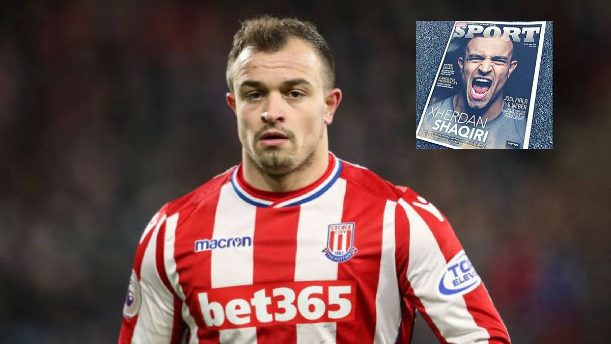 Premier League Shaqiri Even Ronaldinho Couldn T Do Much In This Stoke Side As Com