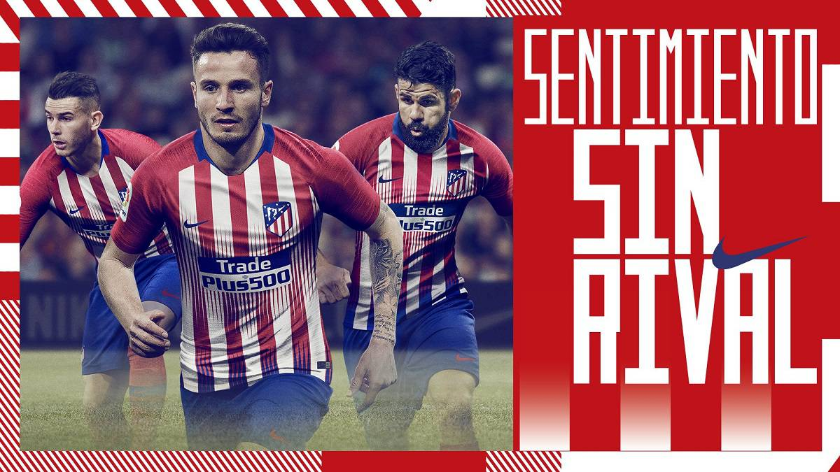 best cheap 177f3 10cbc Griezmann omitted from new Atlético shirt campaign - AS.com