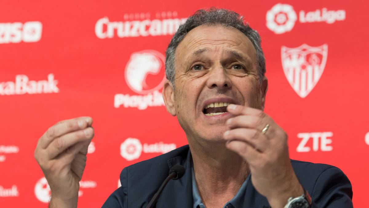"Caparrós: ""Sevilla almost seems like Barcelona's youth academy..."" - AS.com"