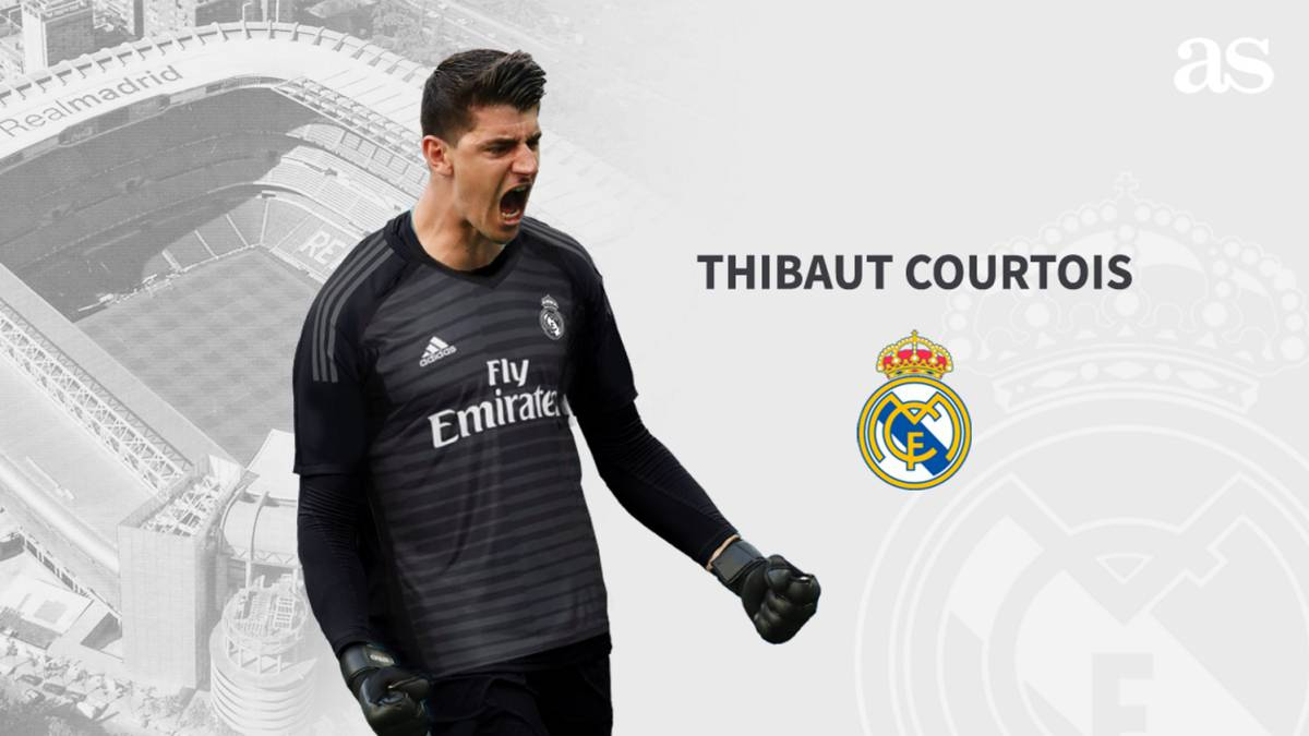 huge discount 5261e d5dd8 Official: Courtois signs for Real Madrid - AS.com