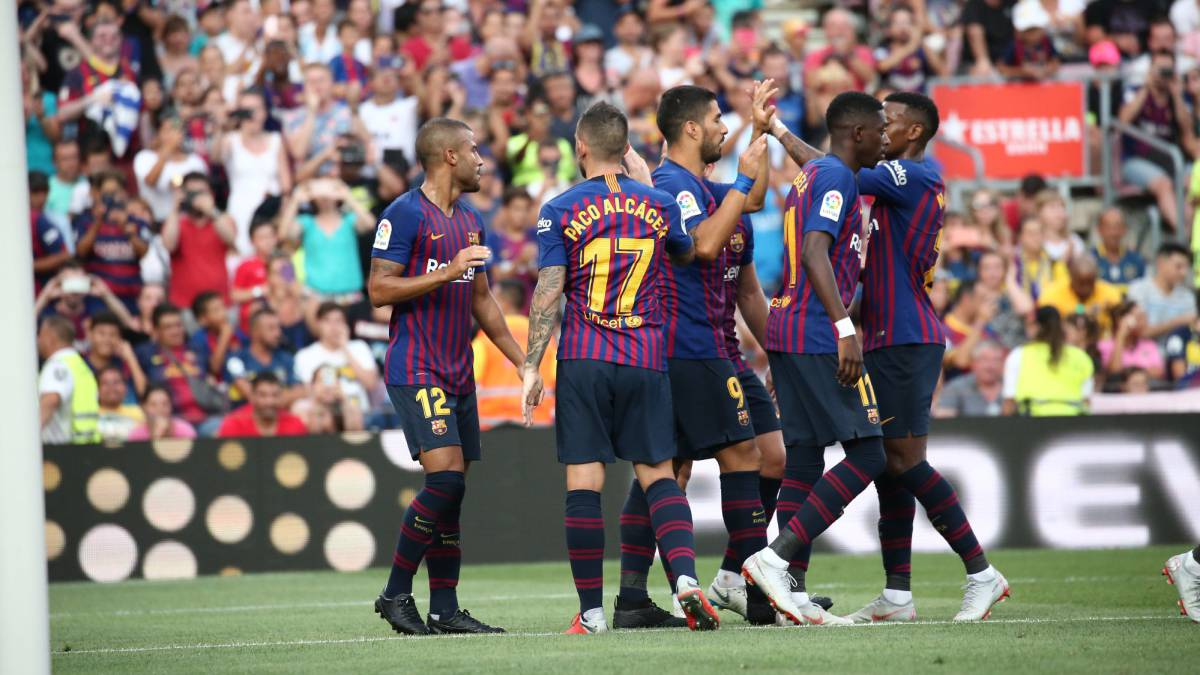 Barcelona: Five aims as LaLiga champions kick off title defence - AS.com