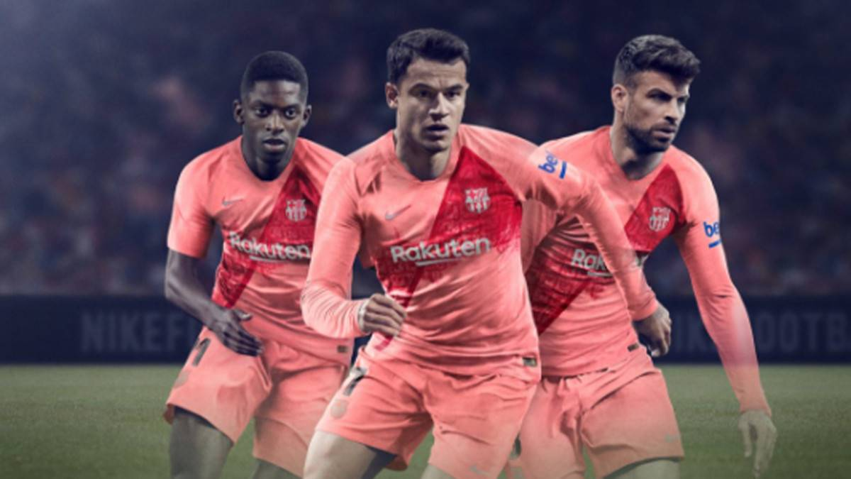 Official: Barcelona launch their third kit for 2018/19 - AS com