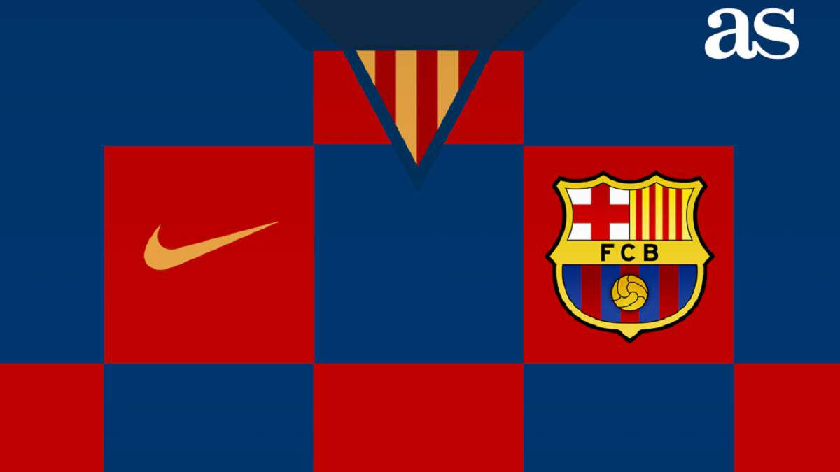 Barcelona 2019/20 shirt: Croatia-style checkerboard design? - AS com